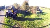 Sortie enduro moto & quad Corrèze - Limousin, 30 octobre 2016