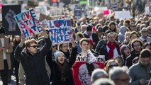 Republicans and Democrats discuss protests against Trump's election