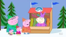 Peppa Pig English Full Episodes 49 Season 4 = Snowy Mountain