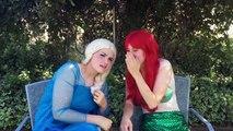 Spatula Girl vs Rat Elsa Turns Into A Fly Maleficent Pranks Fun Superhero Kids In Real Life In 4K