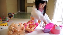 Baby Alive Doll Spider Attack Accident,Sleep,Eat,Poop,Sick,Frozen Elsa Doctor Check up in Real Life