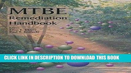 Ebook MTBE Remediation Handbook (ERCOFTAC Series) Free Read