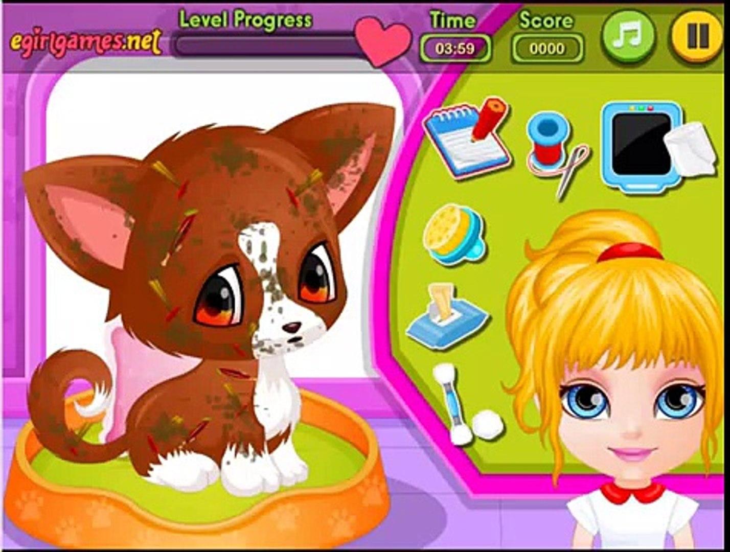 Pet Games for Kids | Baby Barbie Injured Pet