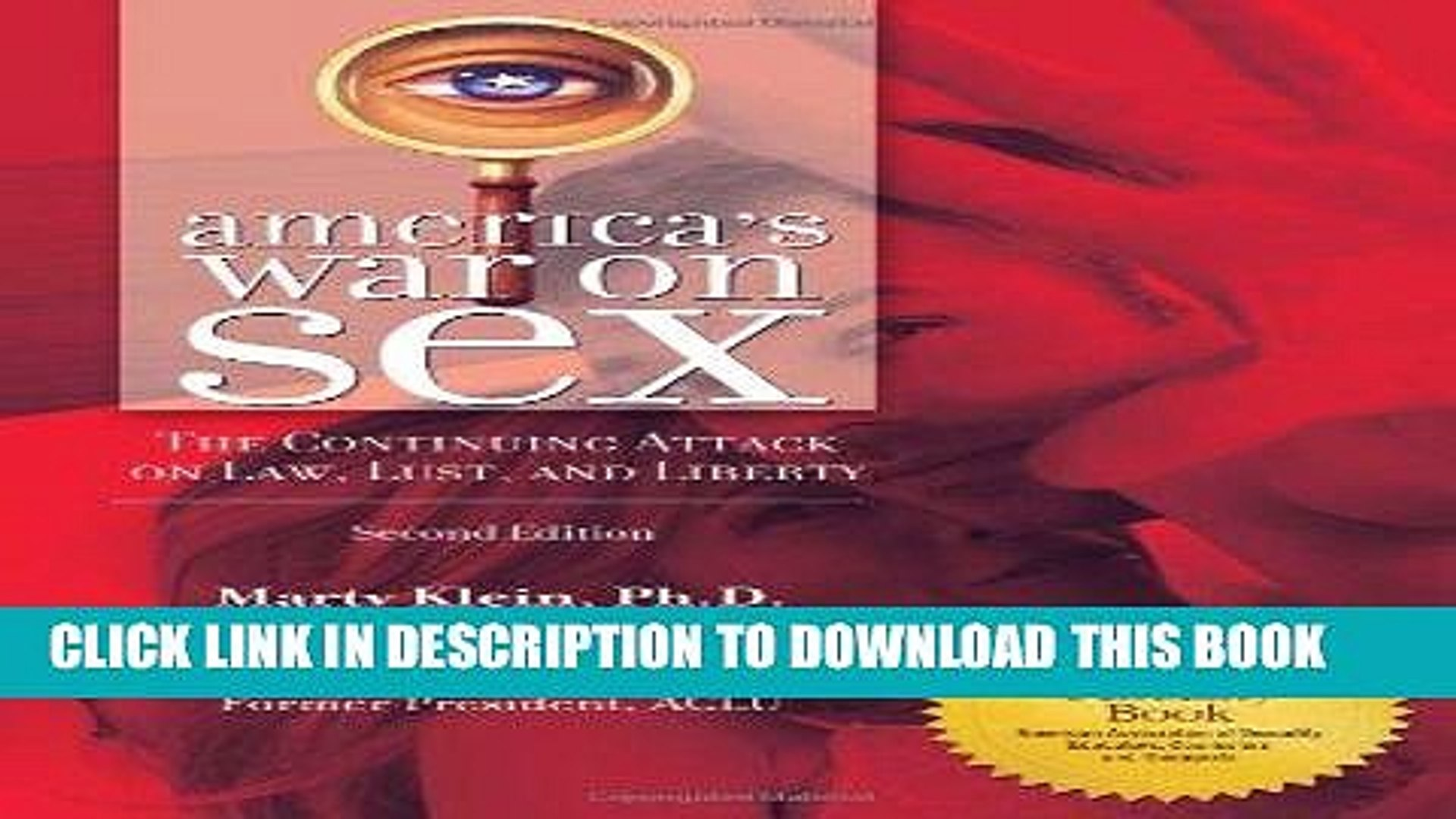 Ebook America s War on Sex: The Continuing Attack on Law, Lust, and Liberty, 2nd Edition (Sex,