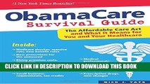 Best Seller ObamaCare Survival Guide: The Affordable Care Act and What It Means for You and Your