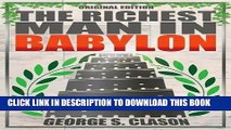 Best Seller Richest Man In Babylon - Original Edition Free Read