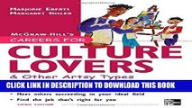 [PDF] Mobi Careers for Culture Lovers   Other Artsy Types, 3rd ed. (McGraw-Hill Careers for You