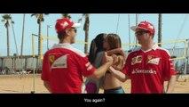 F1 2016 Brazilian GP - Beach volleyball match - Sebastian Vettel vs Kimi Raikkonen