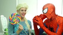 SUMO Battle SPIDERMAN vs Frozen Elsa vs Sumo Wrestling Joker! Spiderman Battle Sumo Elsa Superhero