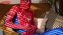 Spiderman Gets Poisoned! Detective Batman is Trying to Find The Villain - Superheroes In Real Life