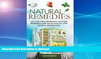 READ BOOK  Natural Remedies: 3 in 1: Natural Remedies, Natural Remedies For Colds and Flu and