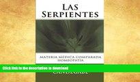 READ  Las Serpientes: Materia Médica Comparada (Spanish Edition)  PDF ONLINE
