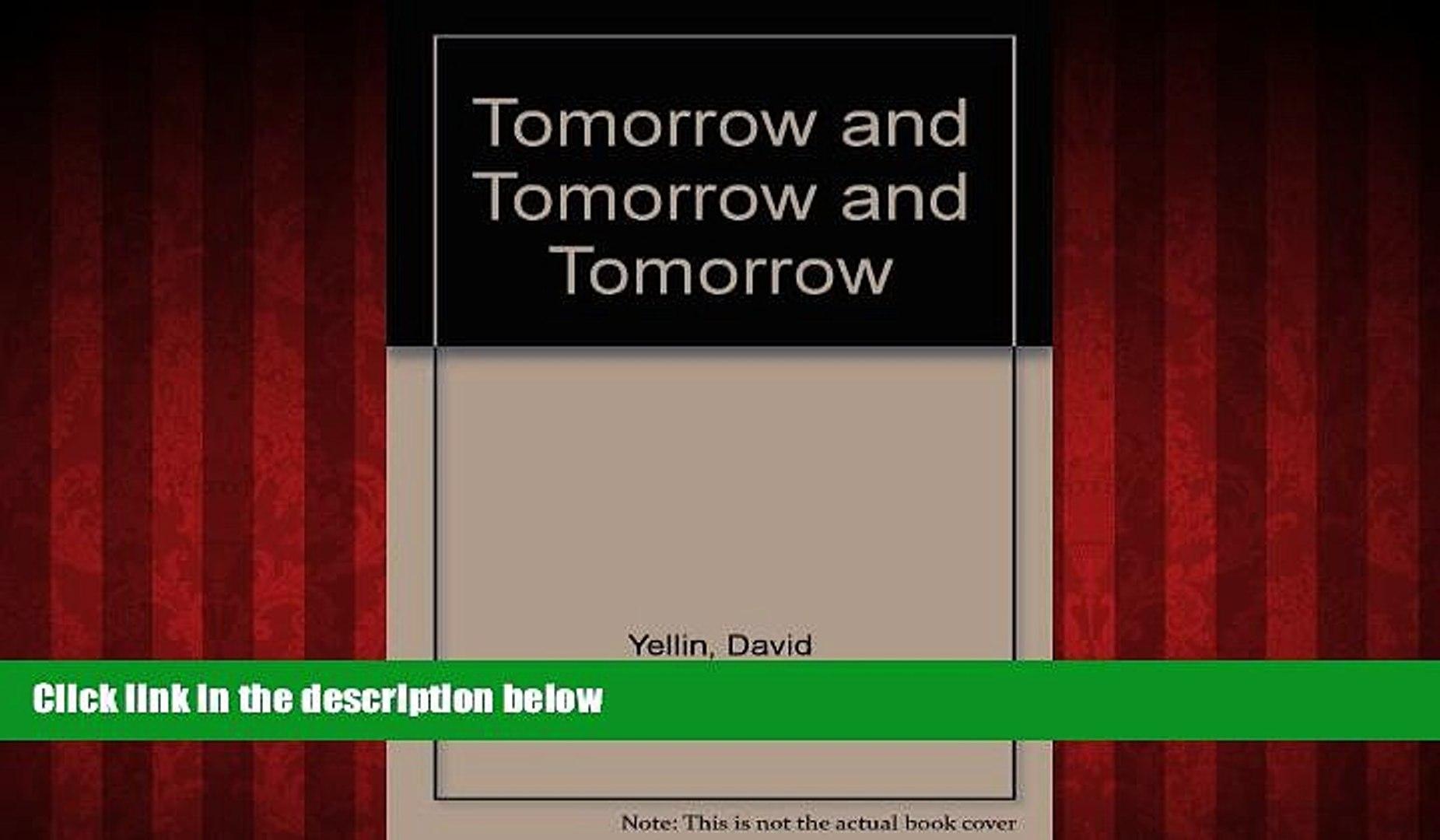 FREE PDF  Tomorrow and Tomorrow and Tomorrow  FREE BOOOK ONLINE