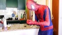 Spiderman vs Alien Invasion ! Funny Green Aliens in Real Life ! Superhero Fun Movie Parody :)