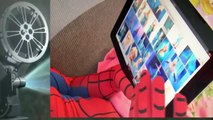 Spiderman and Pink SPIDERGIRL Frozen Elsa / Spidergirl Elsa Kisses Spiderman