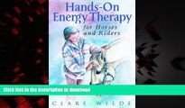 Buy book  Hands-On Energy Therapy for Horses and Riders online