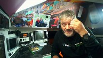 Some news from Enda O'Coineen sailing south Madeira / Vendée Globe