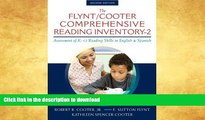 READ BOOK  The Flynt/Cooter Comprehensive Reading Inventory-2: Assessment of K-12 Reading Skills