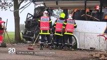 Pas-de-Calais : un mort et trois blessés graves dans un accident impliquant un bus scolaire