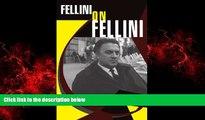 READ book  Fellini On Fellini READ ONLINE