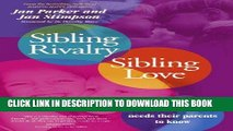 [PDF] Sibling Rivalry, Sibling Love Full Online