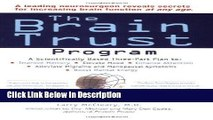 [Download] The Brain Trust Program: A Scientifically Based Three-Part Plan to Improve Memory,