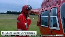 Richie McCaw s'investit pour aider après le tremblement de terre en Nouvelle-Zélande
