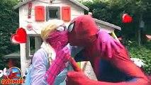 Bath Time Frozen Elsa Bathtime Elsa Dating New Boyfriend Spiderman Superhero Real Life Prank Videos
