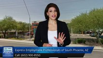 Express Employment Professionals of South Phoenix, AZ |Outstanding 5 Star Review by Gabby R.
