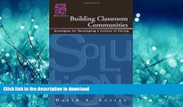 READ  Building Classroom Communities: Strategies for Developing a Culture of Caring FULL ONLINE