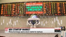 Korea Exchange opens stock market for startups