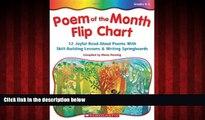 Free [PDF] Downlaod  Poem Of The Month Flip Chart: 12 Joyful Read-Aloud Poems With Skill-Building