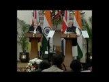 PM UK Ms Theresa Speech on Exchange of Agreement Press Statement PMO India Narendra Modi