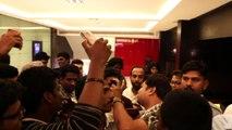 A R Rahman Greets Achcham Yenbadhu Madamaiyada Audience at Sathyam Cinemas