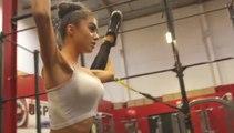 Le Mannequin Challenge très hot avec de jolies filles dans une salle de sport !