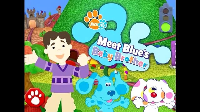 Blues Clues Full Gameisode - Meet Blues Clues Baby Brother! - English HD - Baby Blue!