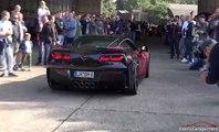 Chevrolet Corvette C7 Z06 BBM Motorsport Exhaust - Drifting, LOUD Revs & Drag races !