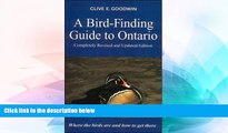 Must Have  A Bird-Finding Guide to Ontario, Revised Edition  READ Ebook Full Ebook
