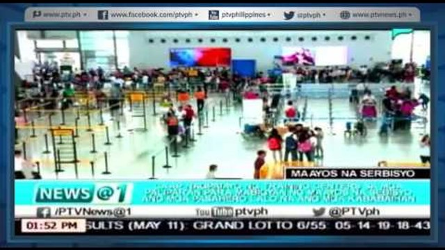 [News@1] CAAP nagpatayo ng training centers para mabigyan ng maayos na serbisyo ang mga pasahero