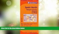 Big Deals  Michelin Spain: North, Basque Country, Navarra, La Rioja Map 573 (Maps/Regional