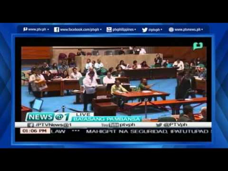 [News@1] Pagbibilang ng boto para sa pagkapanulo at VP sa Kongreso [05|27|16]