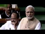 PM Narendra Modis Superb Reply To Asaduddin Owaisi In Parliament