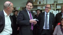 Alpes-de-Haute-Provence : Matthias Fekl, secrétaire d'Etat au tourisme en visite officielle