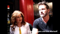 Suzanne Rogers and Eric Martsolf at 2016 Days of our Lives Day of Days Event