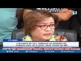 5 witness ng DOJ, humarap sa pagdinig ng Kamara ukol sa illegal drug trade sa NBP