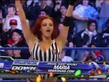 WWE Michelle McCool vs Maryse Divas Championship Match