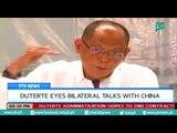 [PTVNews 9pm] President Rody Duterte, eyes Bilateral talks with China [07|14|16]