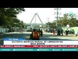 [PTVNews] Marcos burial at 'Libingan ng mga Bayani', according to President Rody Duterte
