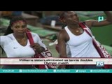 Williams sisters, eliminated sa tennis doubles Olympic match