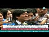 [PTVNews] Dating Pangulong Marcos, ililibing na sa Libingan ng mga Bayani sa Setyembre 18 [08|06|16]